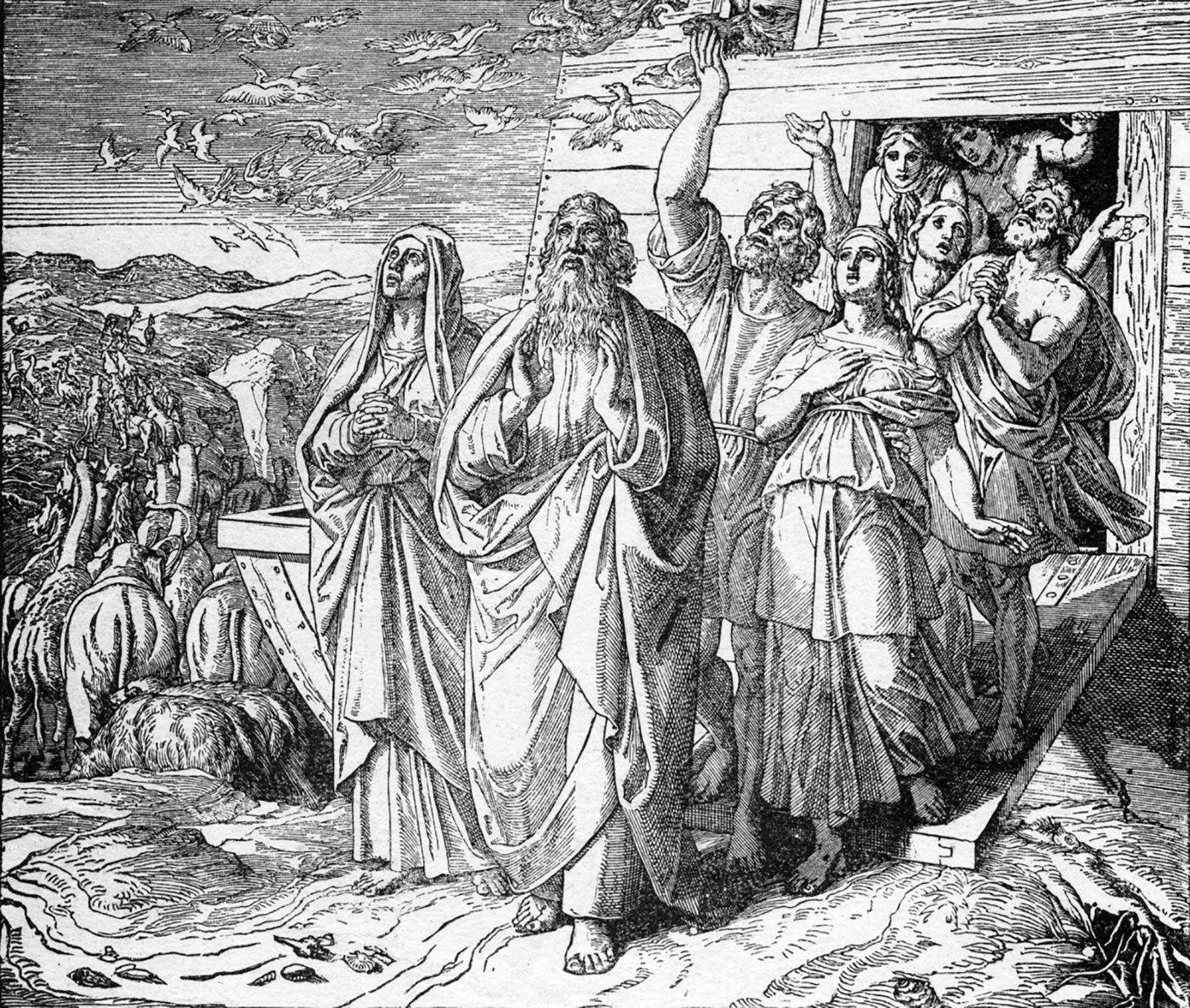 How Can Old Testament Characters be so Old?  Is this Realistic?